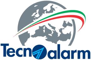 Tecnoalarm logo home page